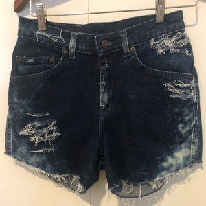 Custom Jean Shorts